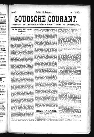 Goudsche Courant 1886-02-12