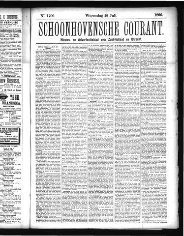 Schoonhovensche Courant 1896-07-29