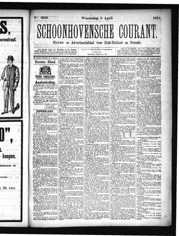 Schoonhovensche Courant 1912-04-03