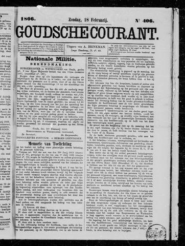 Goudsche Courant 1866-02-18