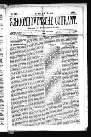 Schoonhovensche Courant 1881-03-06