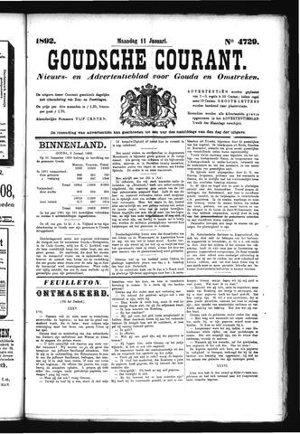 Goudsche Courant 1892-01-11