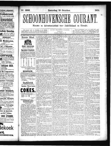 Schoonhovensche Courant 1912-10-19