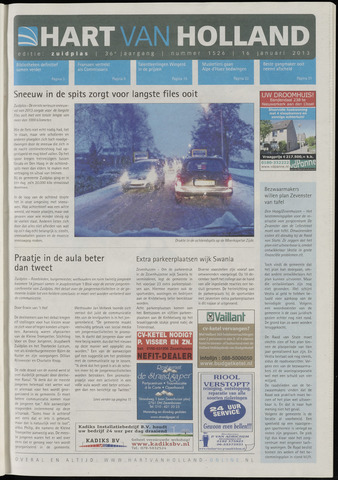 Hart van Holland - Editie Zuidplas 2013-01-16