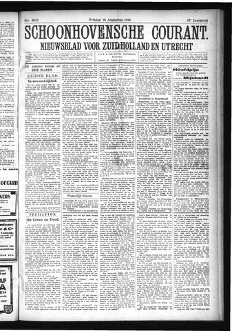 Schoonhovensche Courant 1925-08-28