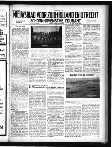 Schoonhovensche Courant 1949-07-08