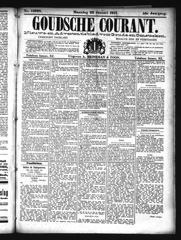 Goudsche Courant 1917-01-22