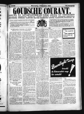 Goudsche Courant 1934-11-07