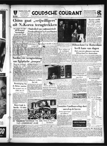 Goudsche Courant 1958-02-19