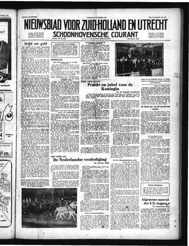 Schoonhovensche Courant 1950-11-24