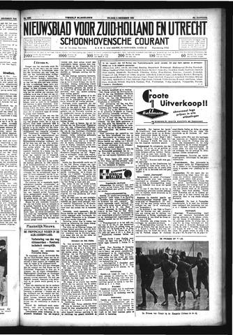 Schoonhovensche Courant 1933-12-08