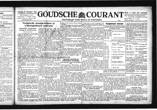 Goudsche Courant 1944-10-27