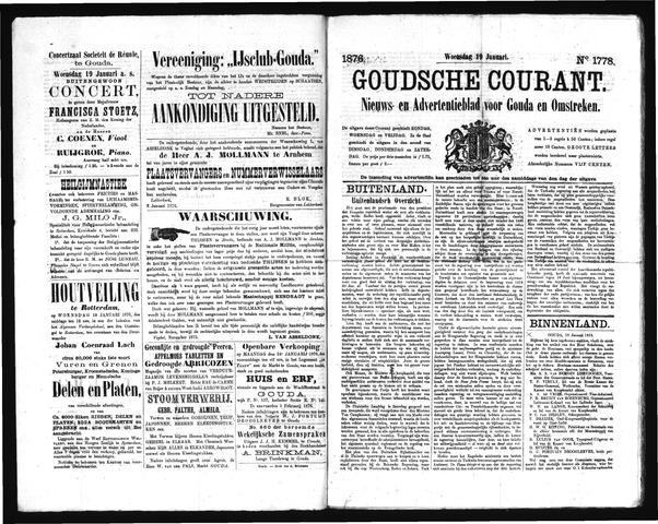 Goudsche Courant 1876-01-19
