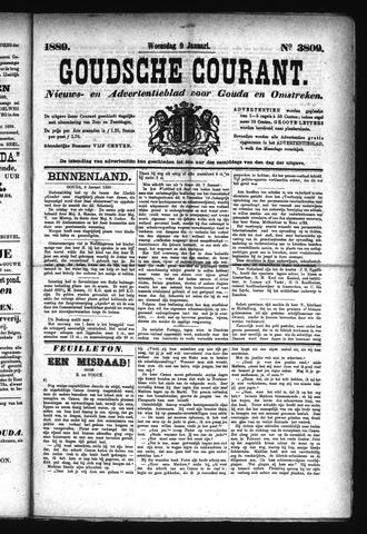Goudsche Courant 1889-01-09