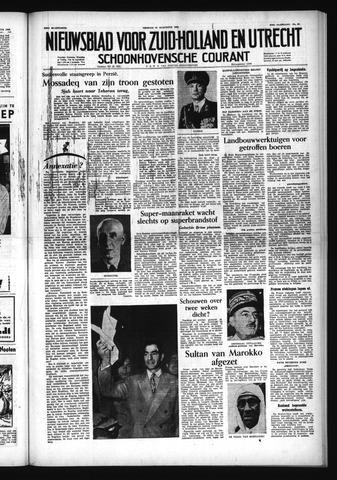 Schoonhovensche Courant 1953-08-21