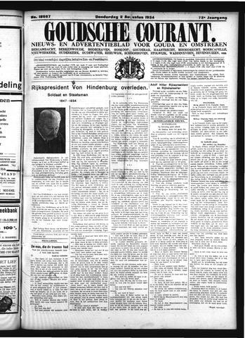 Goudsche Courant 1934-08-02
