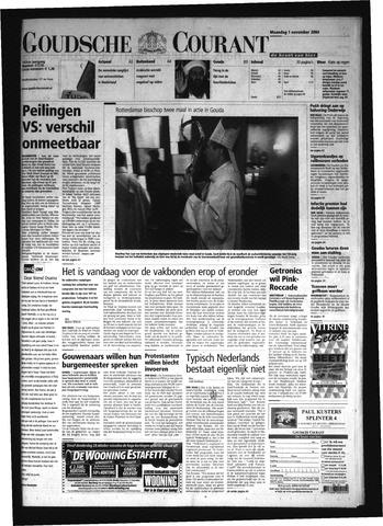 Goudsche Courant 2004-11-01
