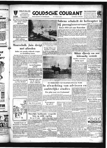 Goudsche Courant 1953-03-27