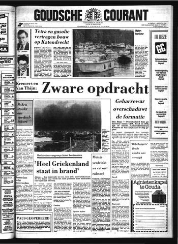 Goudsche Courant 1981-08-05