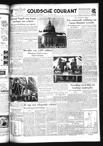 Goudsche Courant 1954-11-17