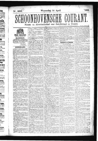 Schoonhovensche Courant 1909-04-14