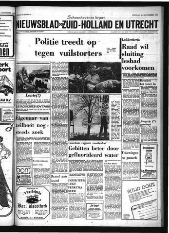 Schoonhovensche Courant 1974-11-29