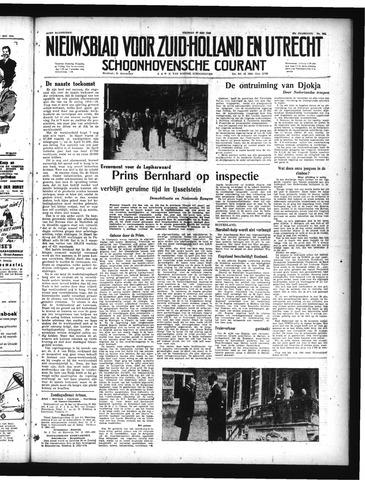 Schoonhovensche Courant 1949-05-27