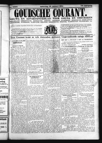 Goudsche Courant 1934-01-20