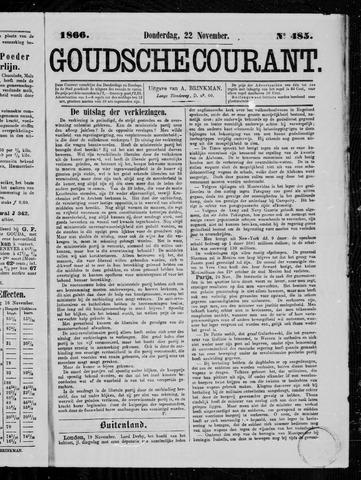 Goudsche Courant 1866-11-22