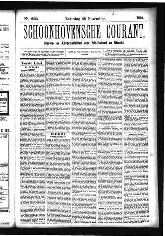 Schoonhovensche Courant 1904-11-26