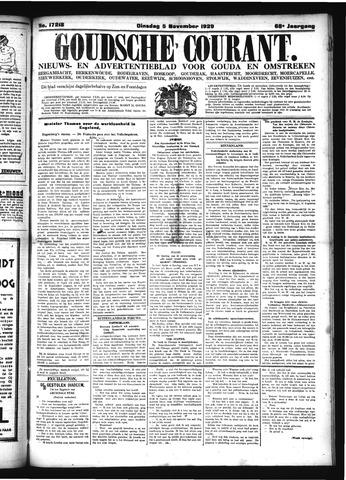 Goudsche Courant 1929-11-05