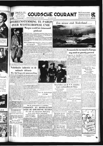 Goudsche Courant 1954-10-22