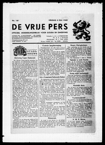 De Vrije Pers 1945-07-06