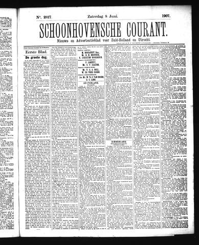 Schoonhovensche Courant 1907-06-08