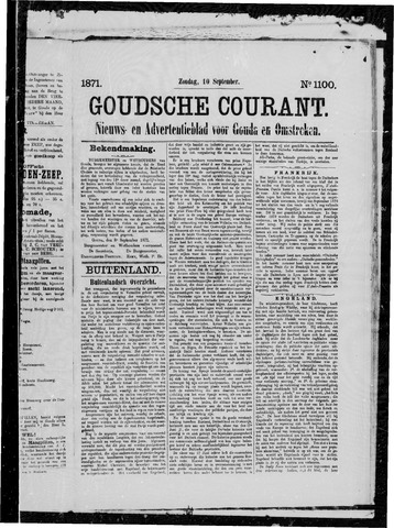 Goudsche Courant 1871-09-10