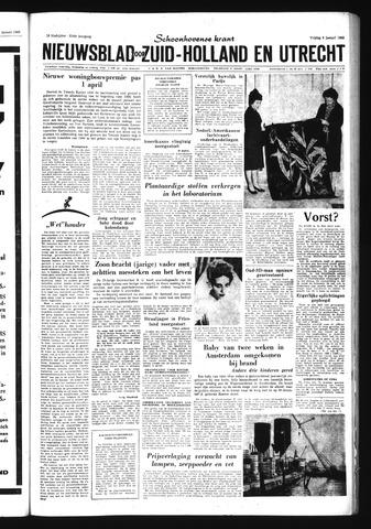 Schoonhovensche Courant 1960-01-08