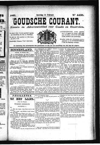 Goudsche Courant 1891-02-21