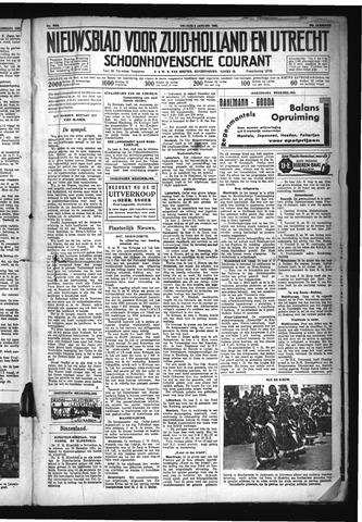 Schoonhovensche Courant 1932-01-08