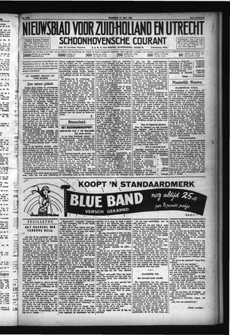 Schoonhovensche Courant 1932-07-11