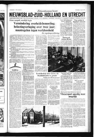 Schoonhovensche Courant 1967-04-19