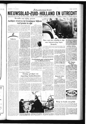 Schoonhovensche Courant 1967-04-07