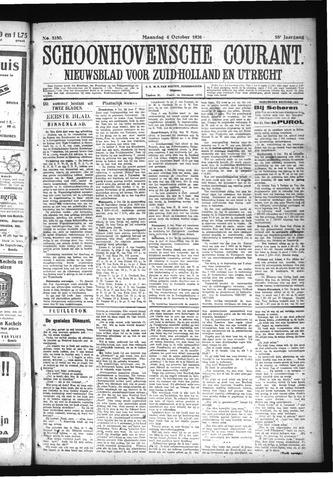 Schoonhovensche Courant 1926-10-04