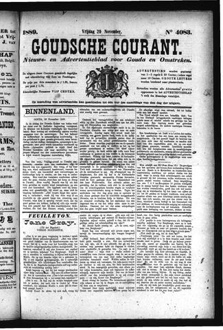 Goudsche Courant 1889-11-29