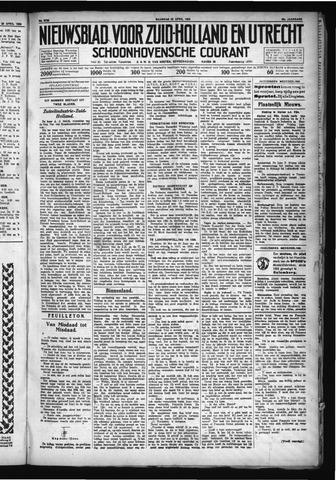 Schoonhovensche Courant 1930-04-28