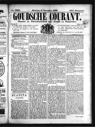 Goudsche Courant 1909-12-11
