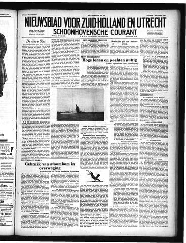 Schoonhovensche Courant 1950-12-01