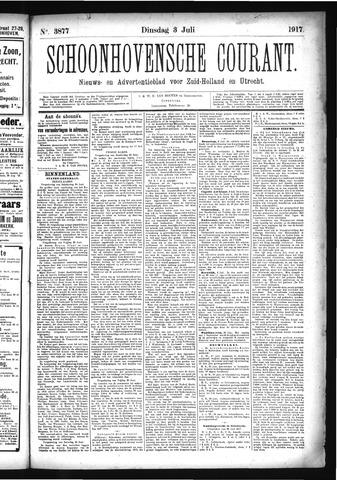 Schoonhovensche Courant 1917-07-03