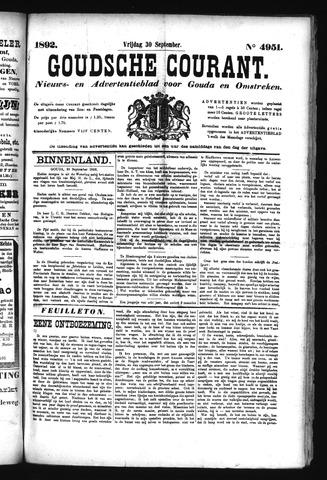 Goudsche Courant 1892-09-30