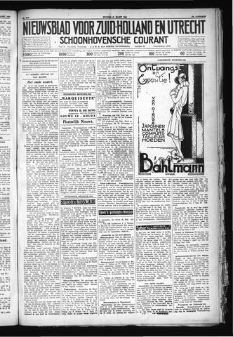 Schoonhovensche Courant 1930-03-21