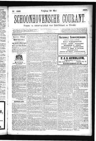 Schoonhovensche Courant 1918-05-10